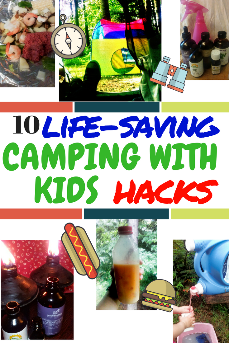 Photo of Family Tent Camping Hacks and Ideas For Camping With Kids