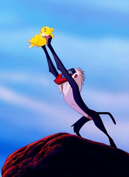 """Resultado de imagem para the lion king rafiki holding simba"""""""