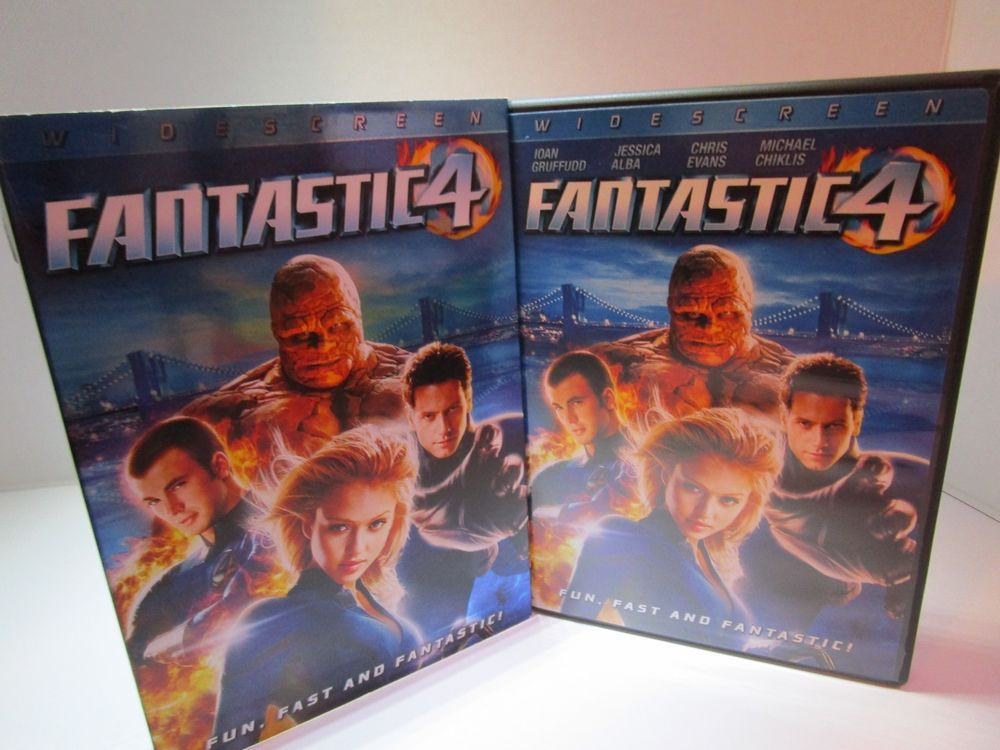 Fantastic four dvd 2009 widescreen rated pg13 free