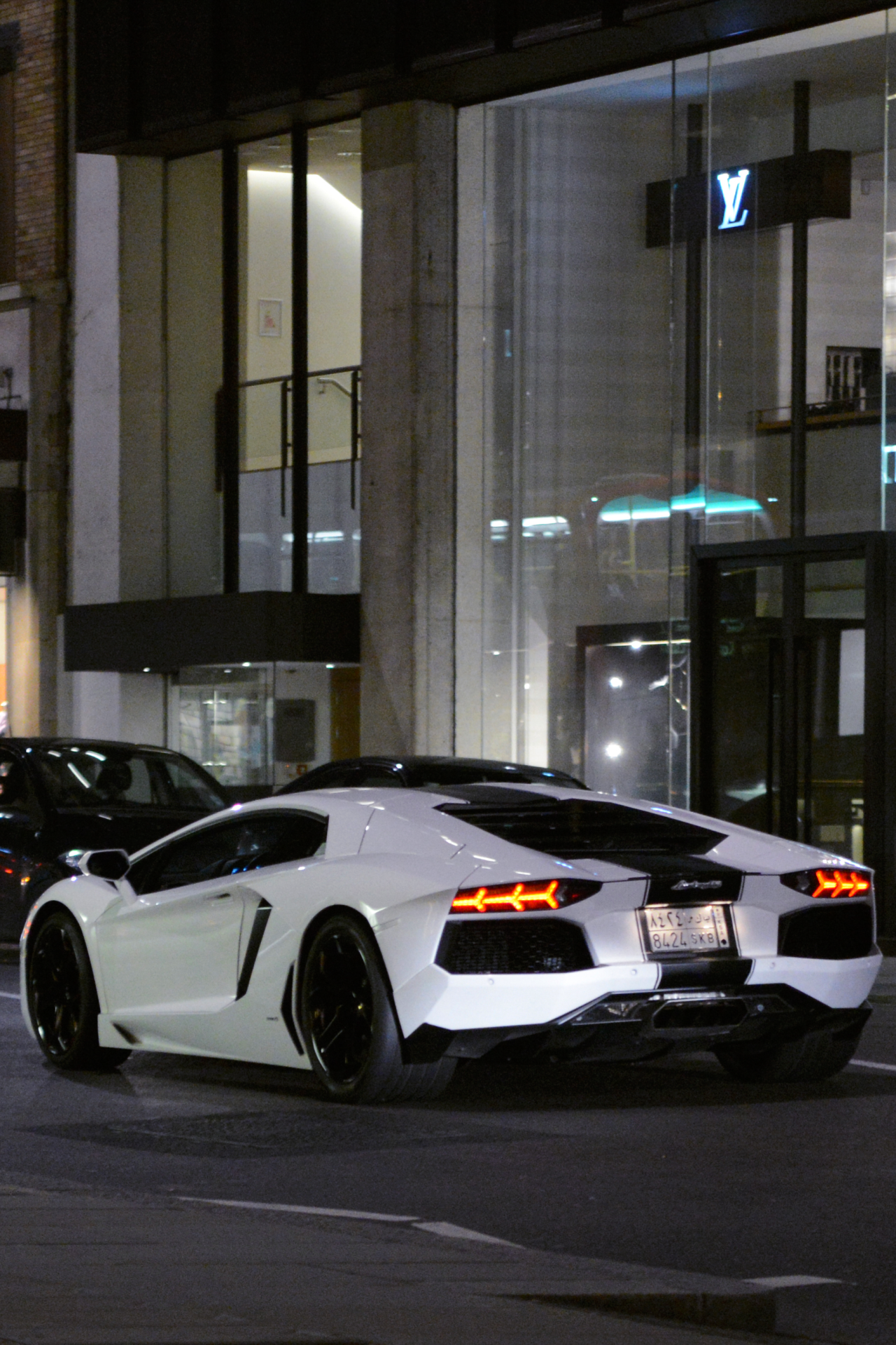 Lamborghini Night Super Cars Luxury Cars Lambo