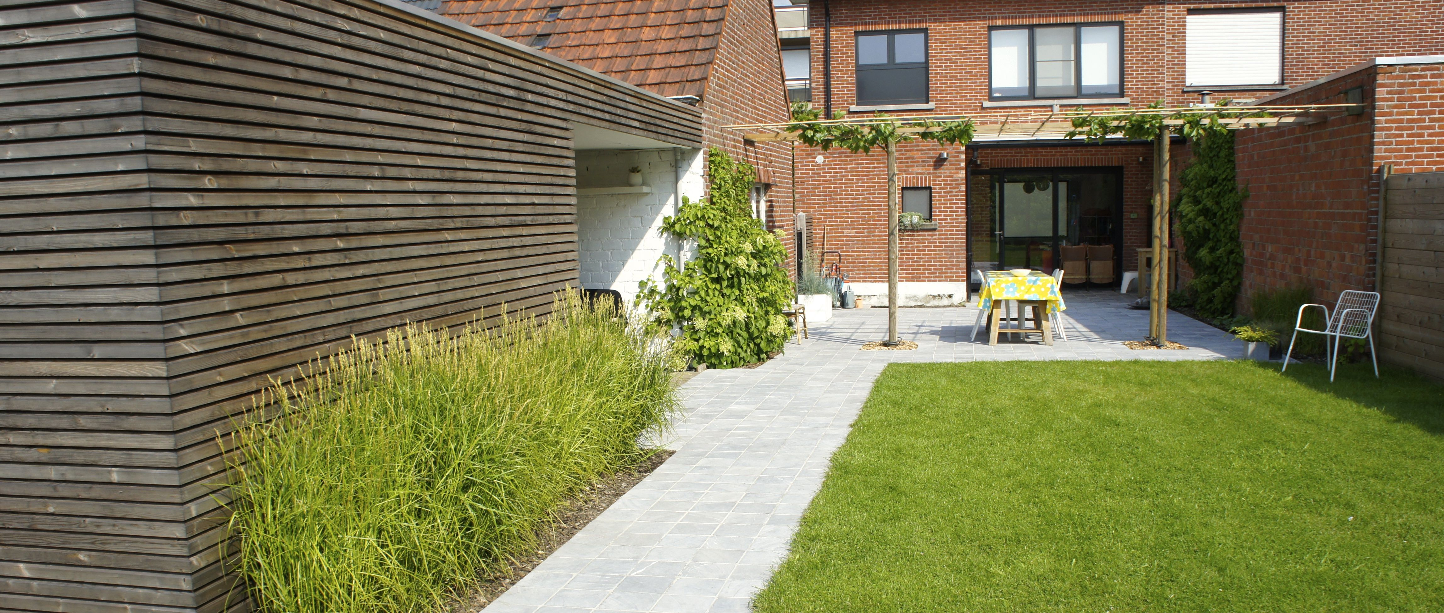 Tuinhuis met keuken