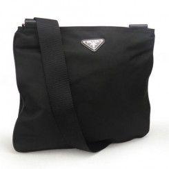 Prada Tessuto Nylon Messenger Bag VA0053 Black (Nero)  ee19eaaa8ef22