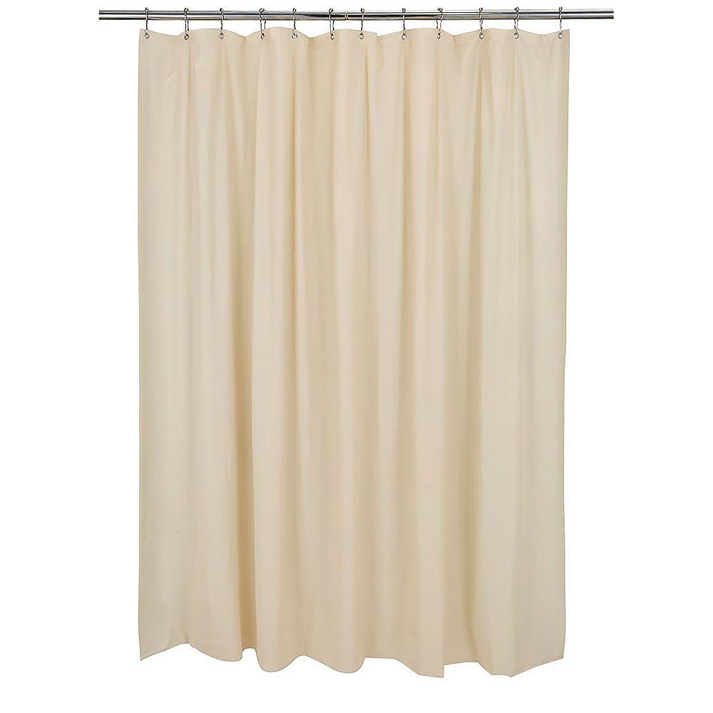 Bath bliss mildew blocker heavy gauge shower curtain liner gauges