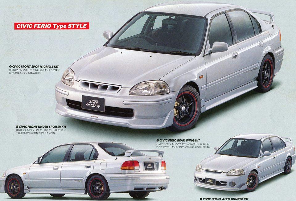 King Motorsports Official Blog Mugen Ek Body Kits Style Aero Body Kit Honda Civic Honda Civic Hatchback