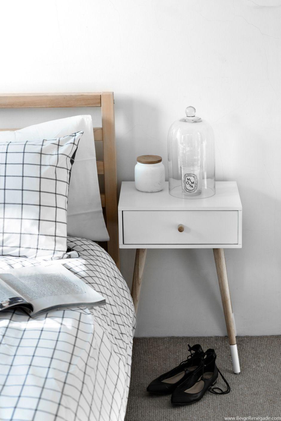 Bedroom via Beige Renegade | Urban Home | home decor | contemporary home | design | interior design | Schomp MINI