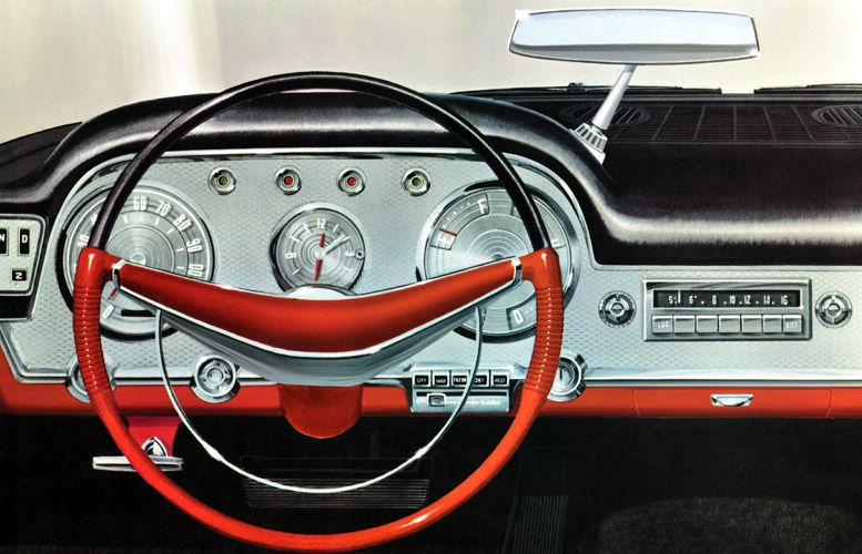 Classic Car Art Vintage Ads Chrysler Saratoga