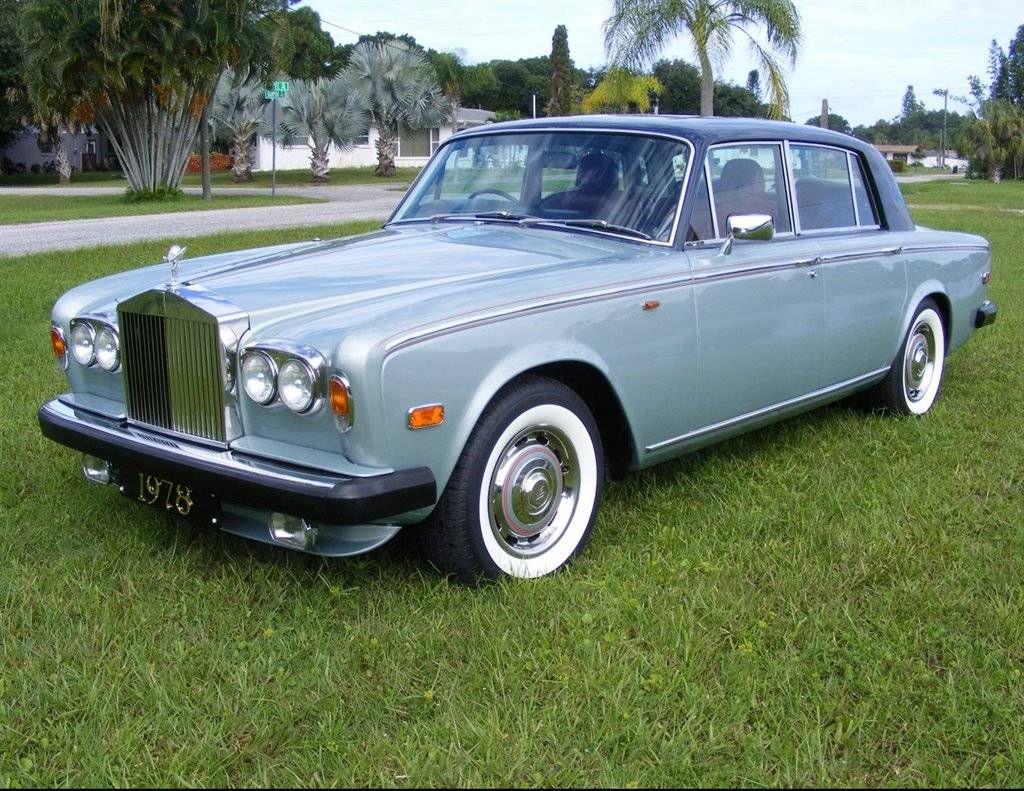 1978 RollsRoyce Silver Shadow II Sedan … Rolls royce
