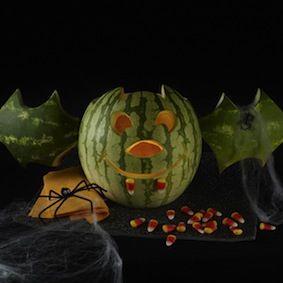 Watermelon  *** BAT JACK - O - MELON *** decor