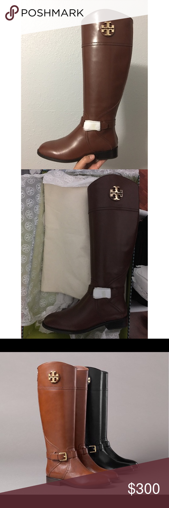 8cbd79c427c1 Tory Burch Adeline Boots Tory Burch Adeline Boots Almond Size 9 wide calf  Brand new   Never Been Used Remains in original packaging Tory Burch Shoes  Winter ...