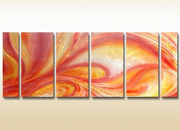Sherbert Sensation Metal Wall Art Set of 6 | Products | Pinterest ...
