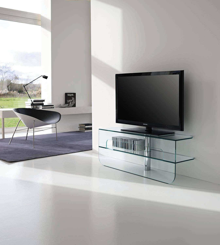 Mueble de televisión moderno / con altavoces de alta fidelidad / de ...
