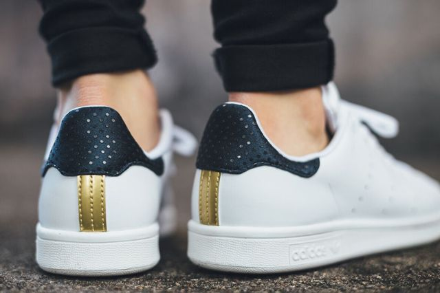 official photos fdc01 2041a RITA ORA x ADIDAS STAN SMITH (LEGEND INK GOLD) - Sneaker Freaker