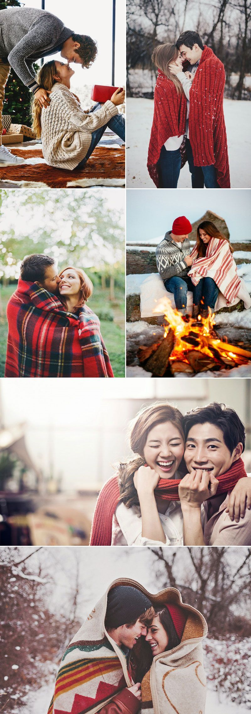 Cute Christmas Photo Ideas for Couples to Show Love The greatest Christmas joy comes out of spending quality time with your loved ones to appreciate each other and just to have fun.  Remember to capture this love and joy with some memorable Christmas photos to make your holidays more romantic! Here are some sweet Christmas photo ideas for couples who want