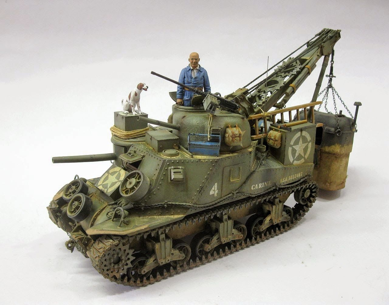 Panzerserra Bunker- Military Scale Models in 1/35 scale: M31 (T2) Tank Recovery Vehicle - case report