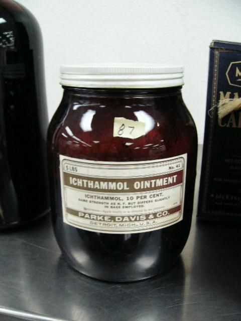 Ichthammol ointment has come back into popularity - can be