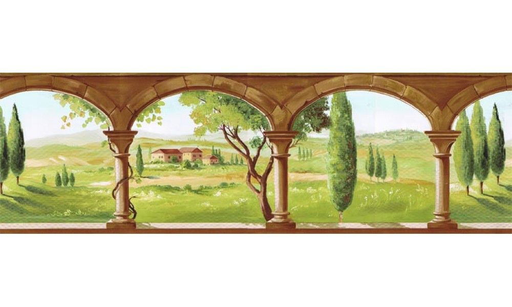 Country Wallpaper Border TK78261   Wallpaper, Wall papers and Decoration