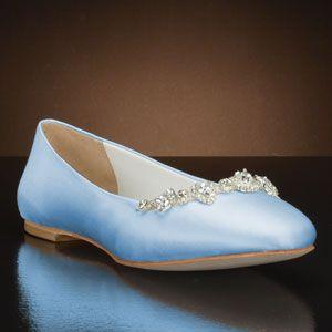 Blossom By David Tutera Light Blue Pink Wedding Shoes White Bridal Shoes Bridal Shoes