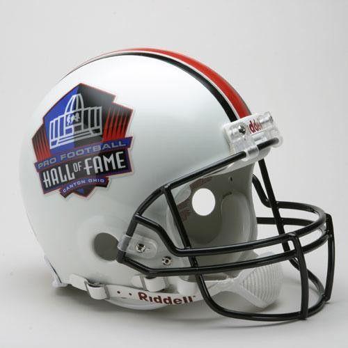 Hall of Fame Emblem Full Size Authentic ProLine NFL Helmet