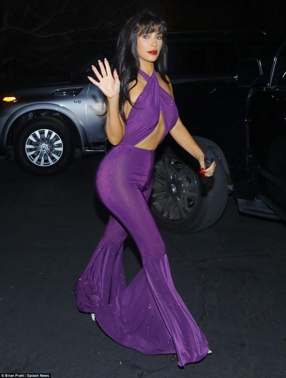 Selena Quintanilla Purple Outfit Kim
