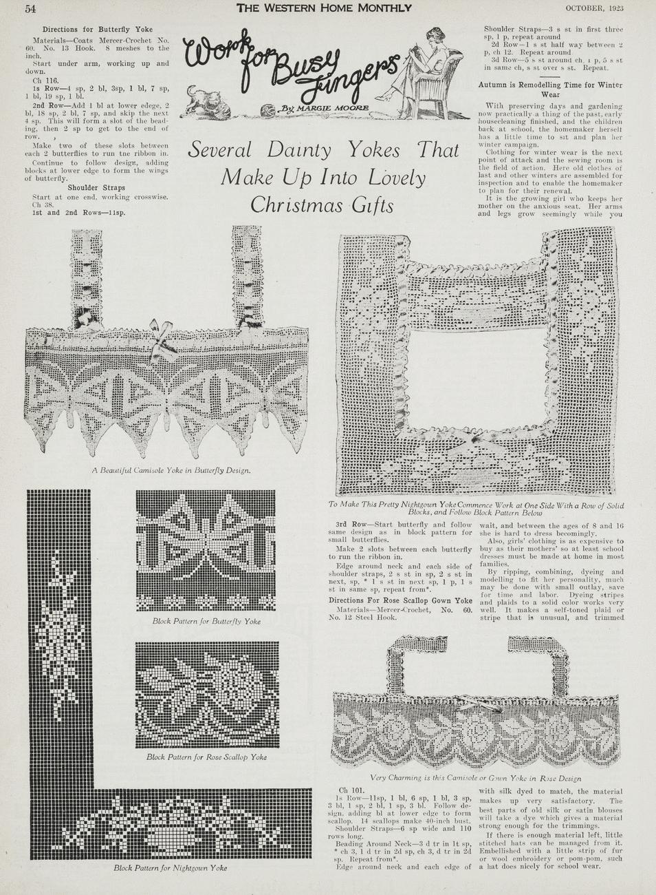 Free 1920s Filet Crochet | Filet crochet, Crochet designs ...