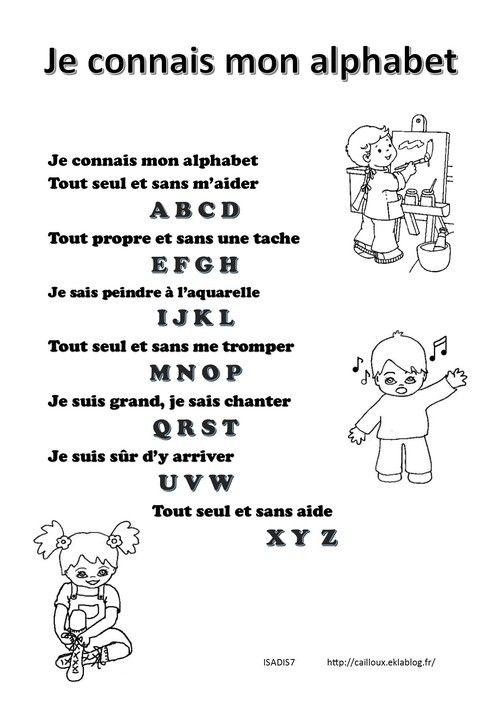 Je connais mon alphabet | Alphabet | Pinterest