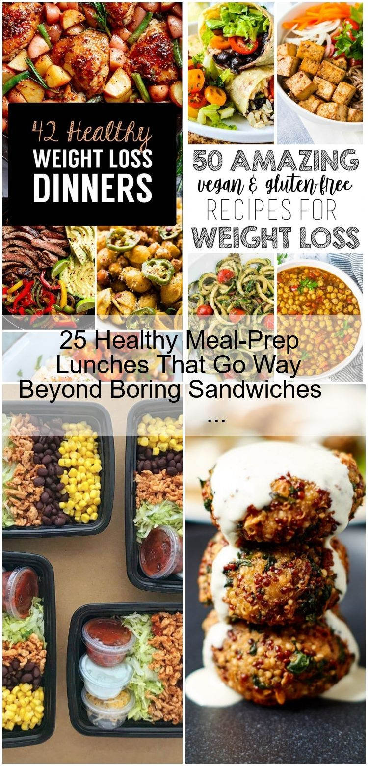 25 Healthy Meal-Prep Lunches That Go Way Beyond Boring Sandwiches 25 Healthy Meal-Prep Lunches That