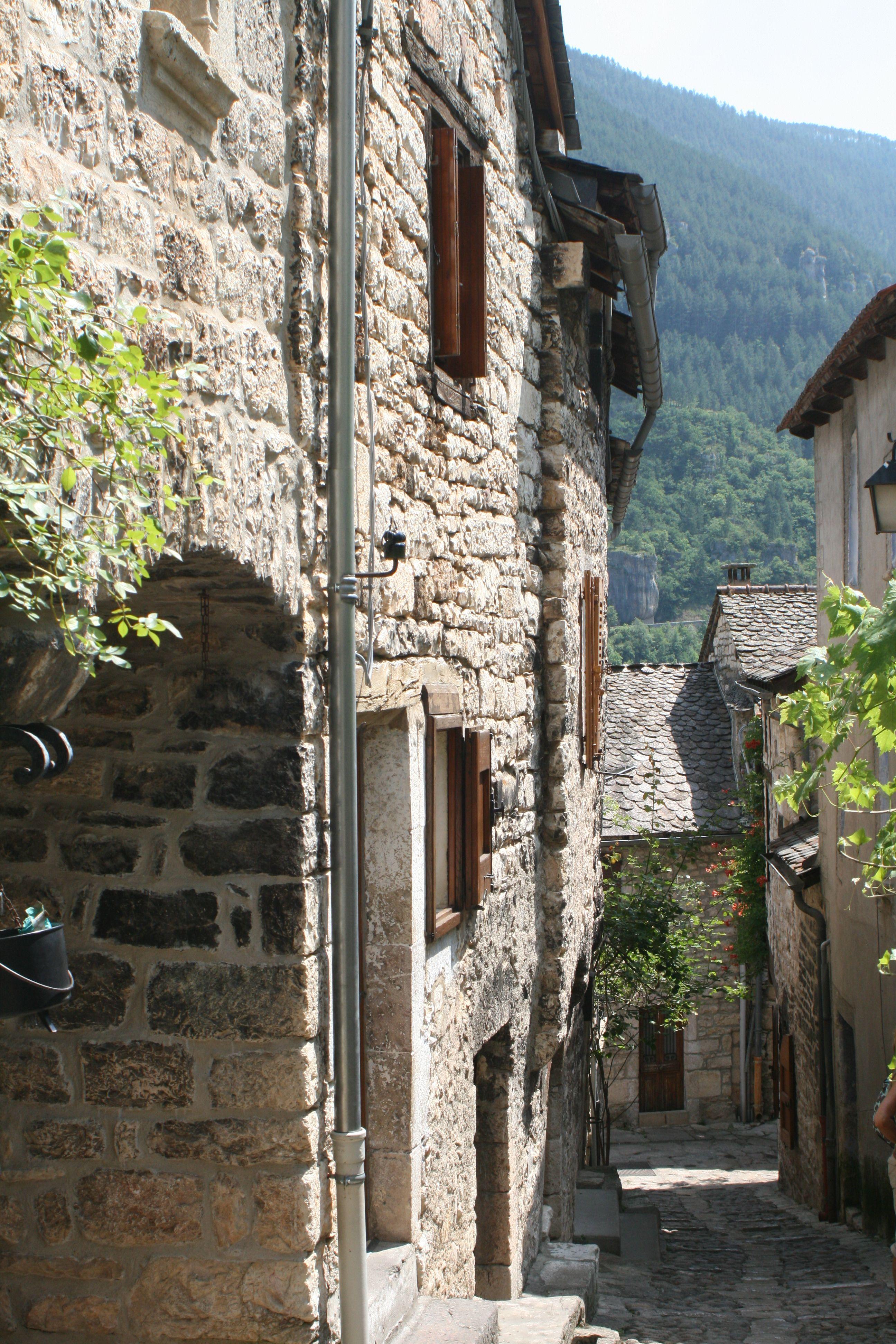 SainteEnimie, du Tarn Lozère, du tarn