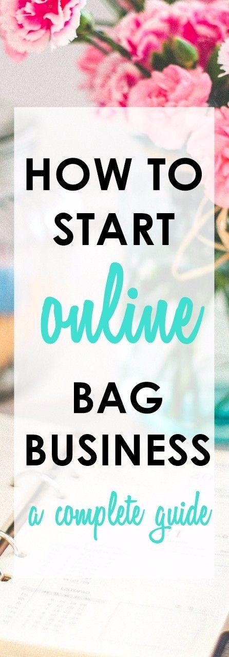 Road to Online Bagpreneur | How to Start an Online Handmade Bag ...