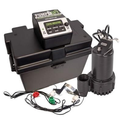 Pumpspy 1 2 Hp Submersible 12 Volt Dc Wifi Connected Battery Backup Sump Pump And Monitoring System Ps2000 Sump Pump Sump Pump Battery Backup Sump