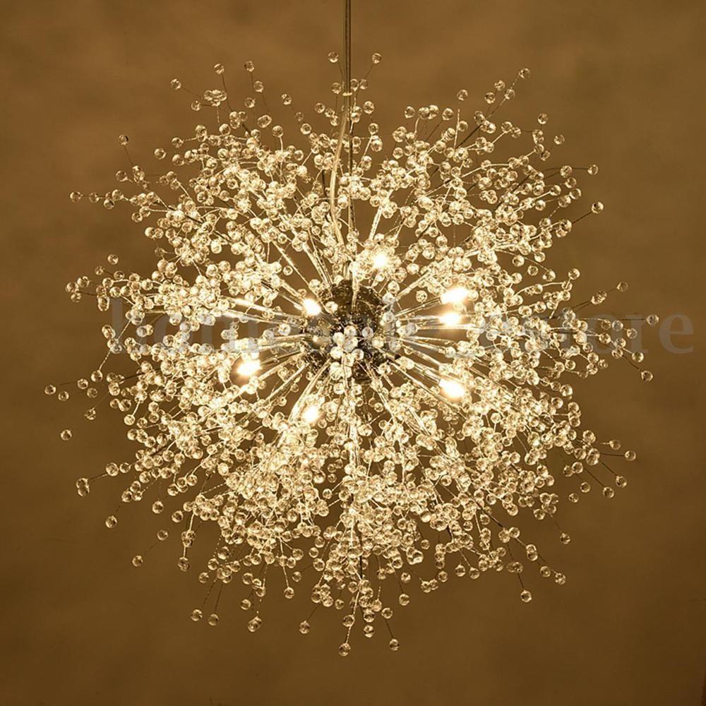 Modern Dandelion LED Chandelier Fireworks Pendant L& Ceiling Lights Home Decor & Modern Dandelion LED Chandelier Fireworks Pendant Lamp Ceiling ...