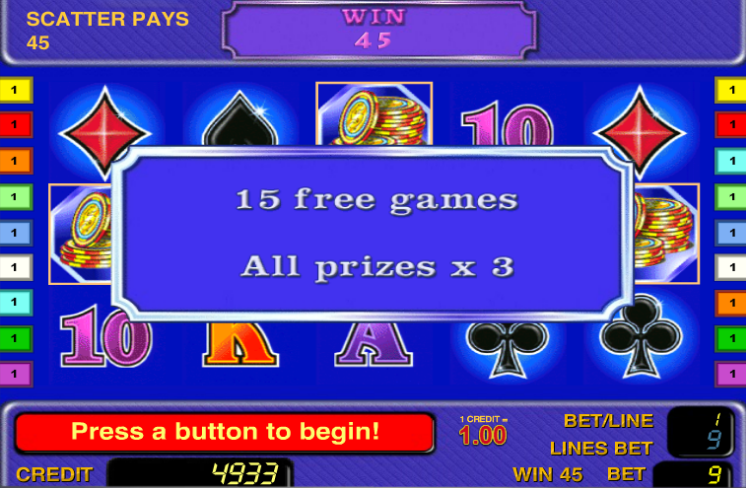 Бесплатные автоматы игровые найти