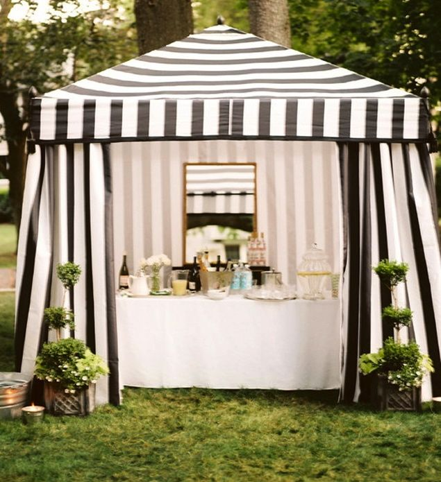 black and white striped canopy tent - Google Search & black and white striped canopy tent - Google Search | Outdoors ...