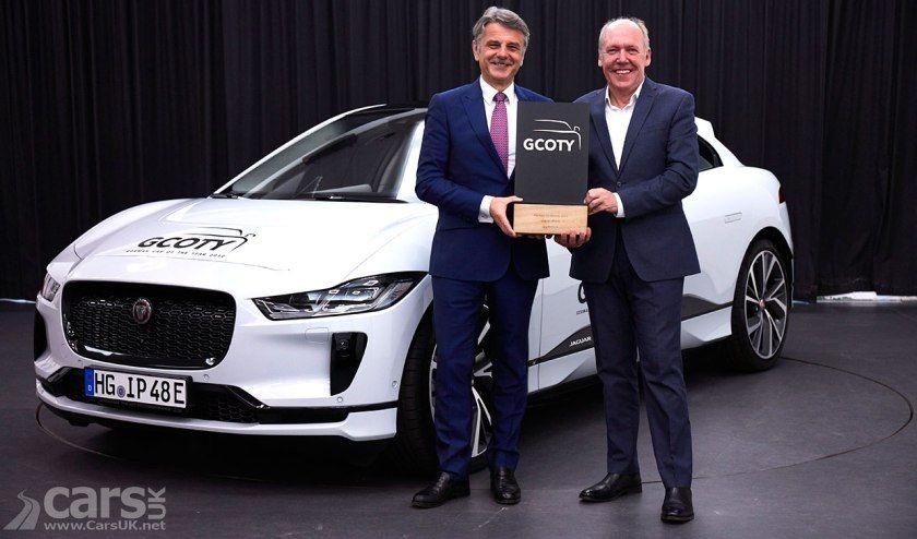 Jaguar I Pace Is The German Car Of The Year Jaguar Cars Uk Car