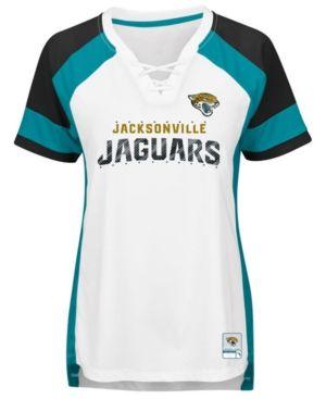 huge discount 58d78 a1e51 Majestic Women's Jacksonville Jaguars Draft Me T-Shirt ...