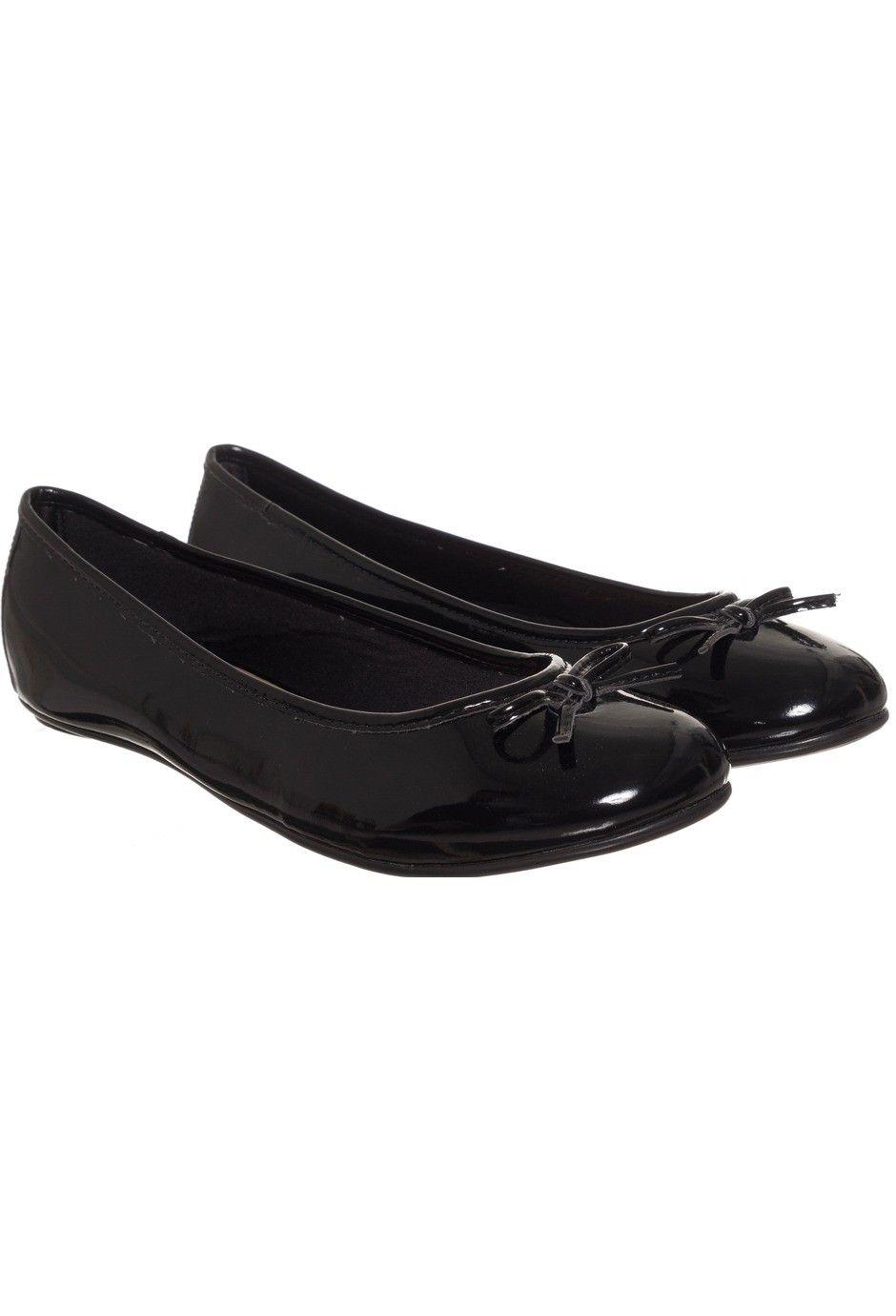 7d31e1d060 Via Uno - Ballerinas 15110201 charol negro Flats Negro