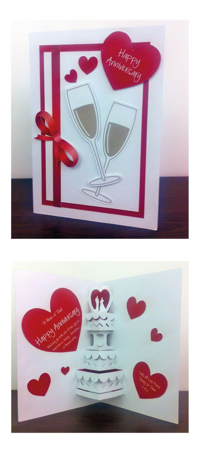 Anniversary card Anniversary card Handmade cards