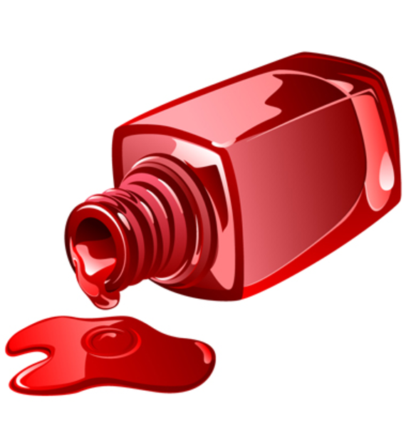 nail polish clipart nail polish vector image vector clip art rh pinterest com Fingernail Painting Clip Art Free Pedicure Clip Art Free