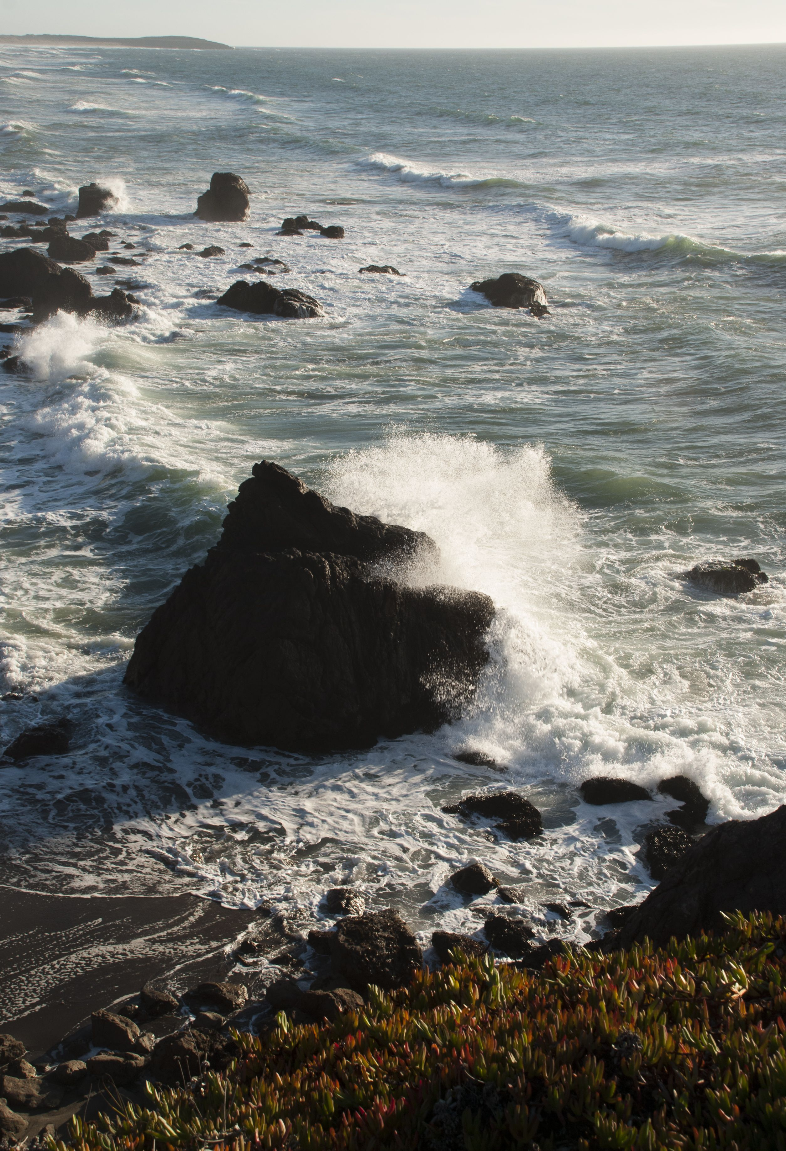 Image result for waves crashing on shores pinterest