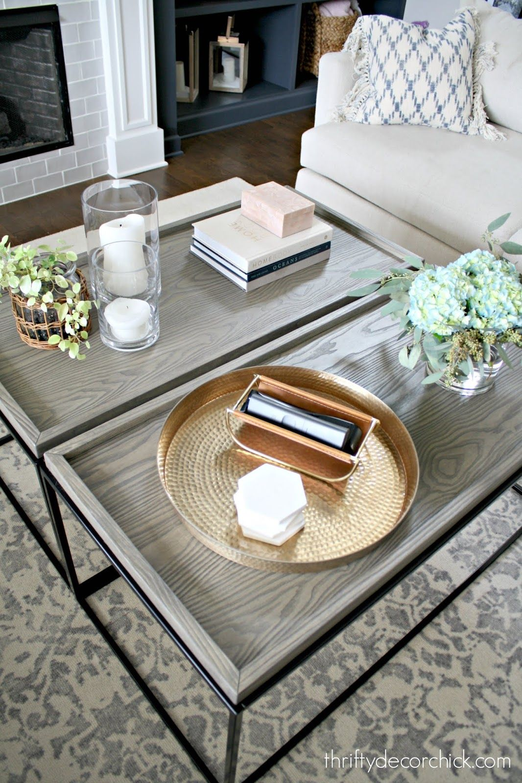 A Large Coffee Table For A Fraction Of The Price Glass Coffee Table Decor Long Coffee Tables Coffee Table Square [ 1600 x 1066 Pixel ]