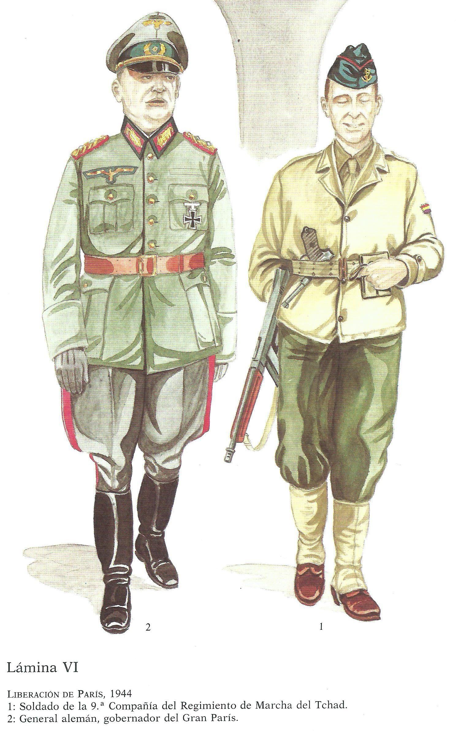Pin En 2ème Division Blindée Leclerc Y La Nueve