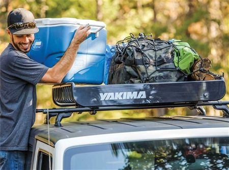 Yakima 8007070 Loadwarrior Camping Gear Roof Cargo Basket Camping Cooking Equipment Camping Gear Roofing Equipment