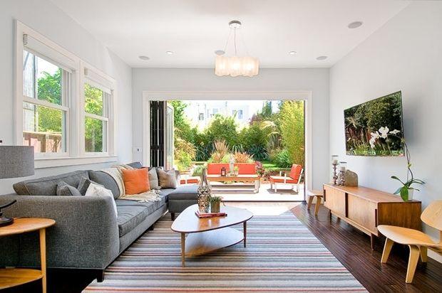 mid century modern sunroom door ideas with contemporary living room rh pinterest com