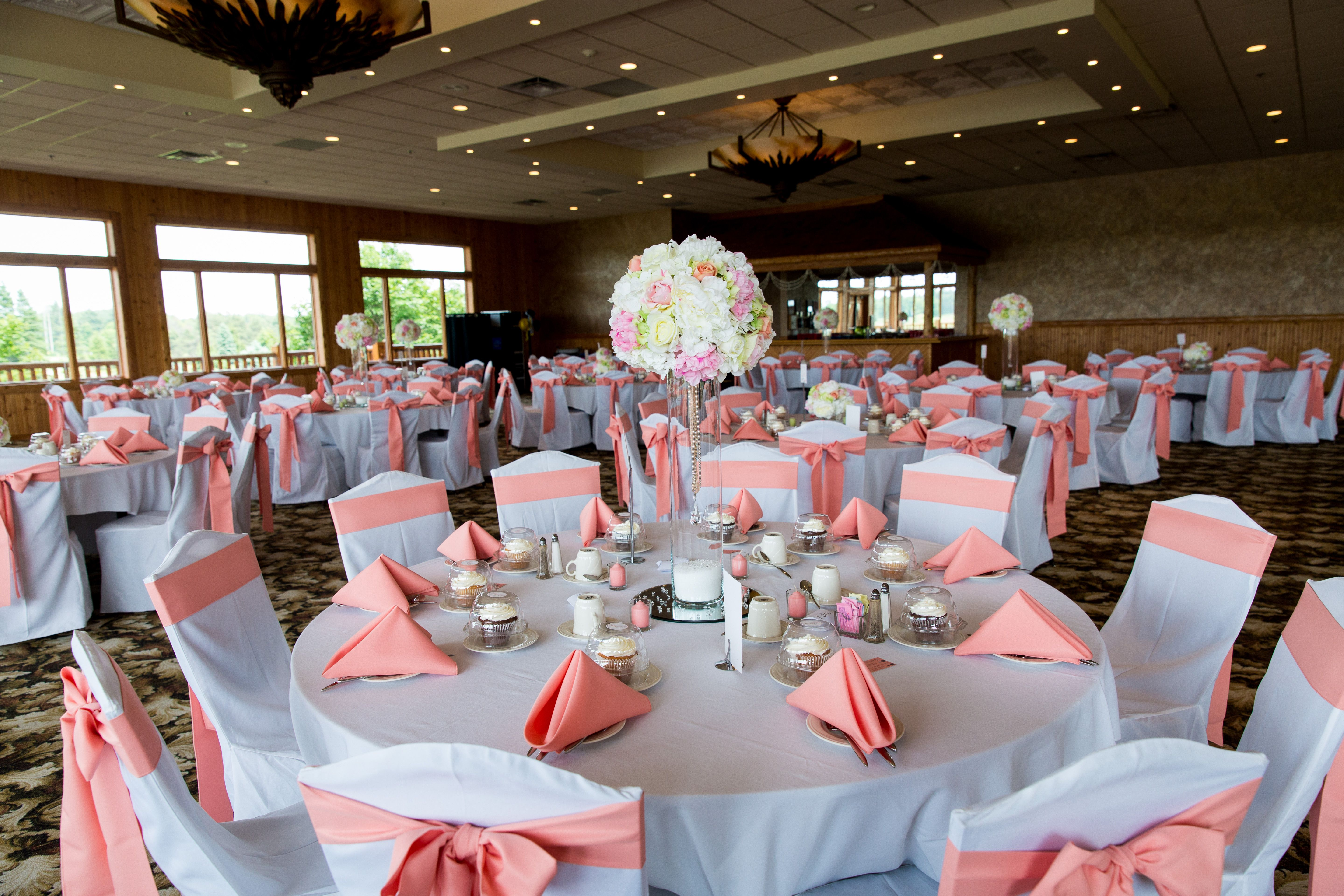 Indoor Ceremony at Oakview Golf Club in