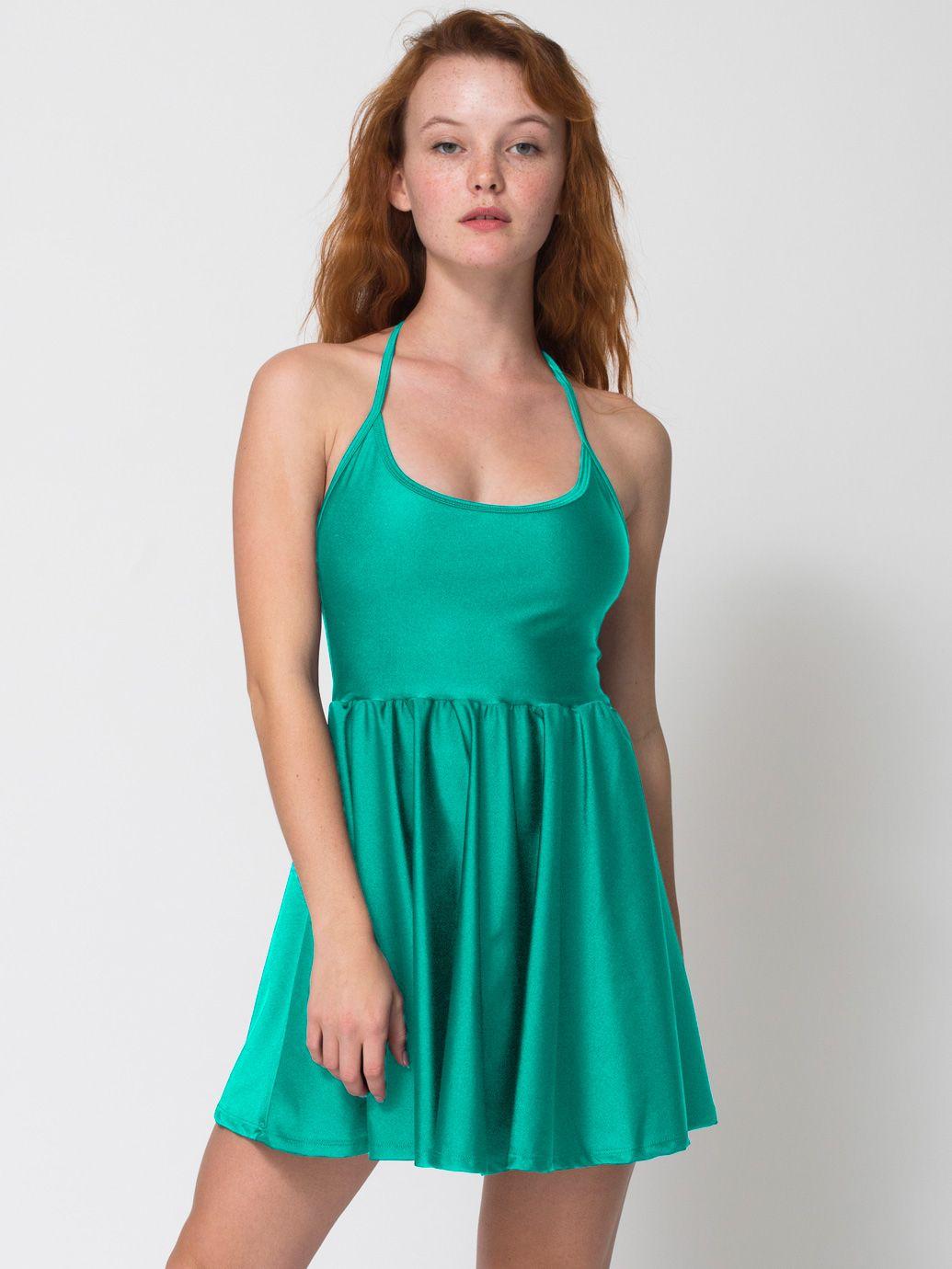 Nylon Tricot Figure Skater Dress | Mini Sleeveless | Women\'s Dresses ...