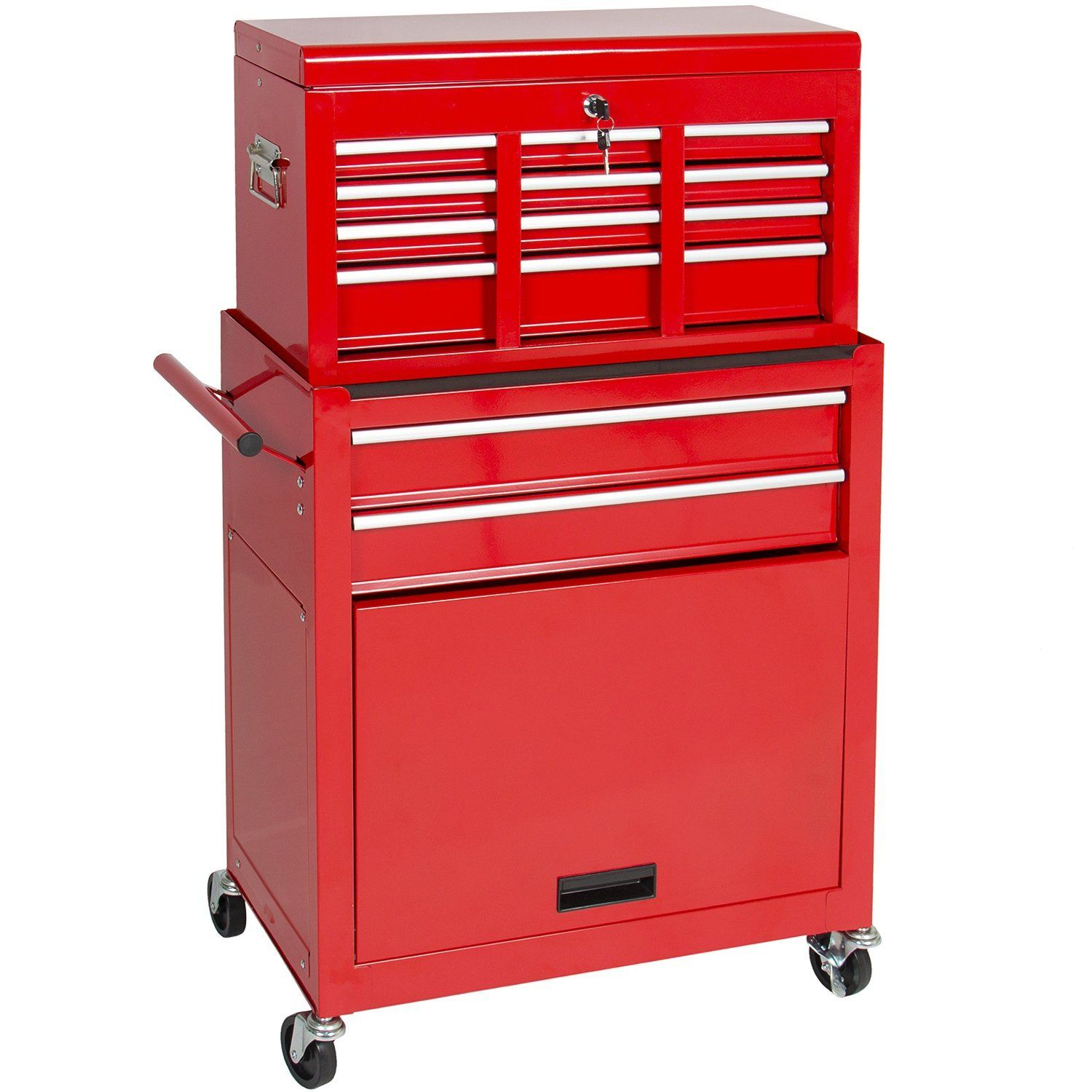 best choice products portable top chest rolling tool storage box rh pinterest com