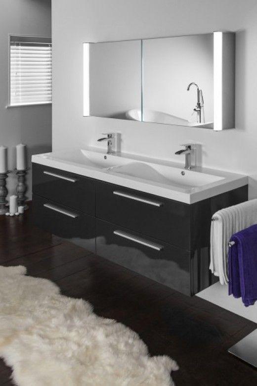 aura 402 led bathroom cabinet with ambient under lighting 1200mm x rh pinterest co uk