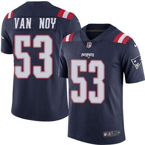 drew brees jersey nike patriots 53 kyle van noy navy blue mens stitched nfl limited