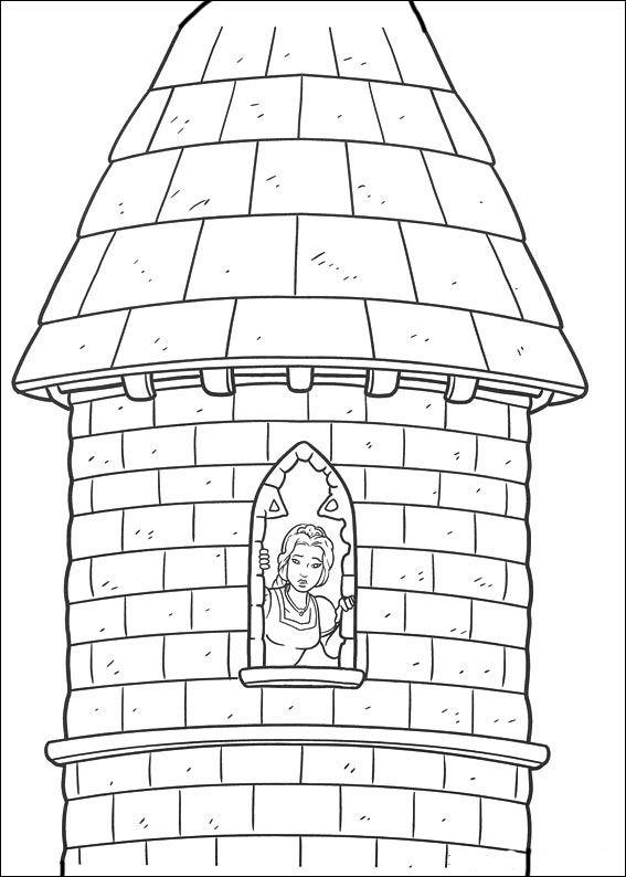 Coloriage Dessins. Shrek 90 | Coloring Pages (Shrek) | Pinterest ...
