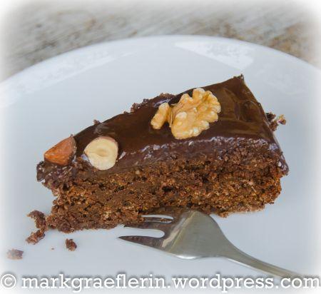 Saftiger Schoko Nuss Kuchen Glutenfrei Cakes Tarts Kuchen