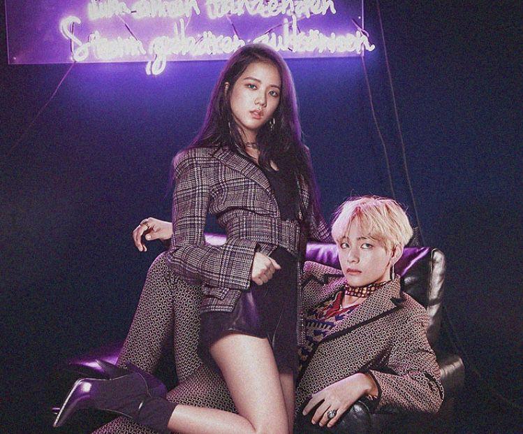 Oh My Rose In 2020 Kpop Couples Bts Girl Kpop Girls